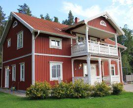 Villa Mälaren, 1 3/4-plan, 84+84 m2 invändig yta