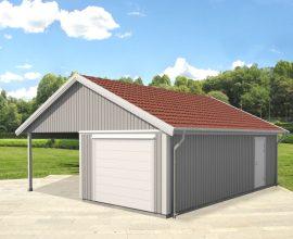 Garage och carport från Vibo praktisk lösning