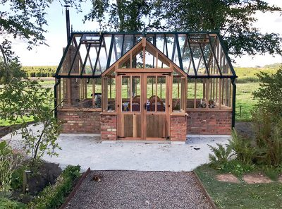 The Kingsbury Cedar Greenhouse, 24,5 m2.